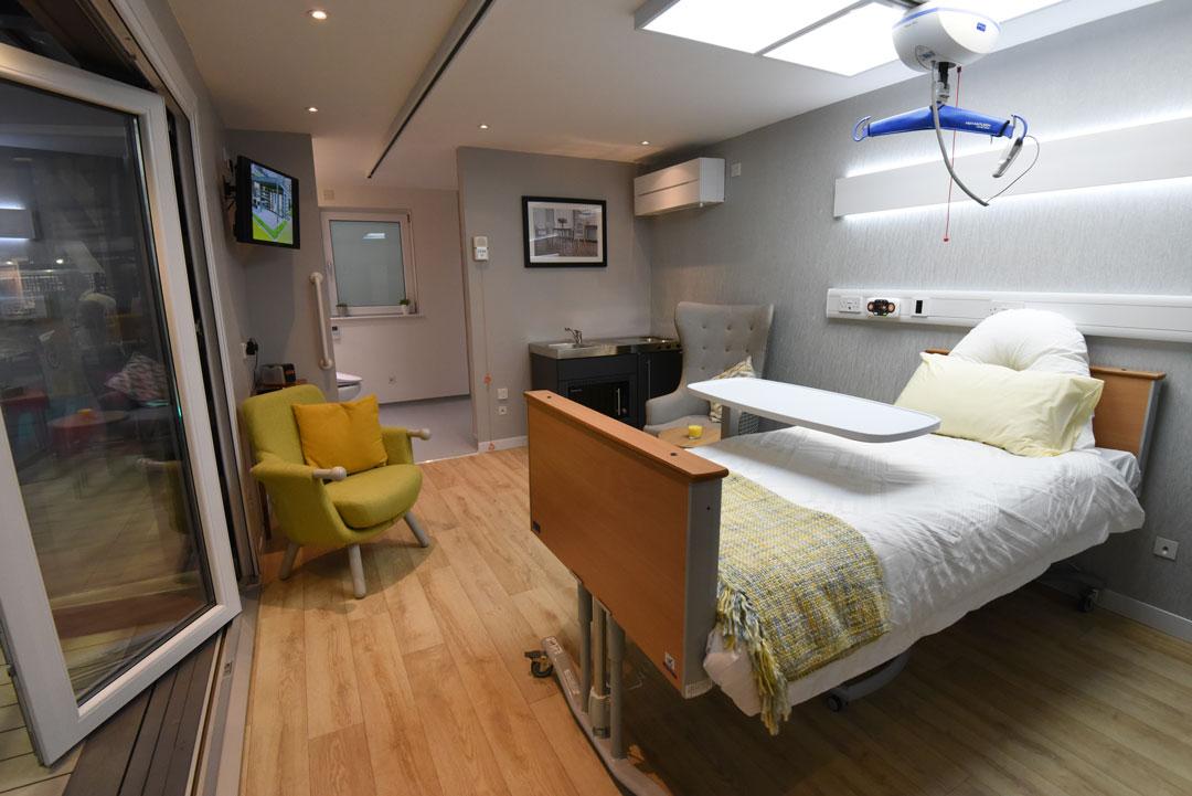 Granny and Care Annex, interior bedroom